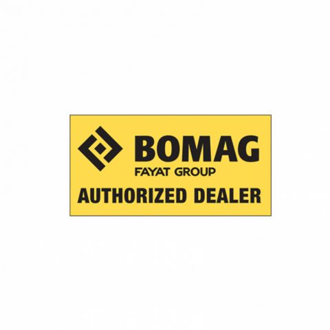 Authorized Dealer - Large Yellow Window Cling