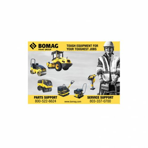 Counter Mat for BOMAG Rental Locations