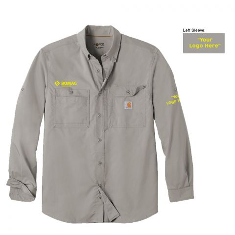 Carhartt Solid Long Sleeve Shirt - Co-Branded - Made to Order