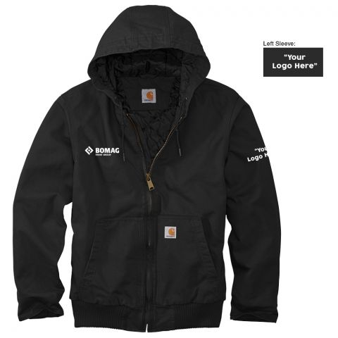 Carhartt Washed Active Jacket - Co-Branded - Made to Order