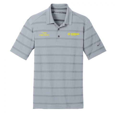 Nike Dri-FIT Stripe Polo - Co-Branded - Made to Order