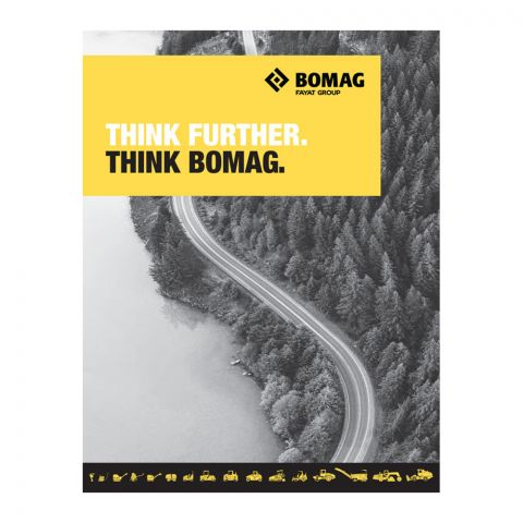 BOMAG Fold-out Line Card Brochure