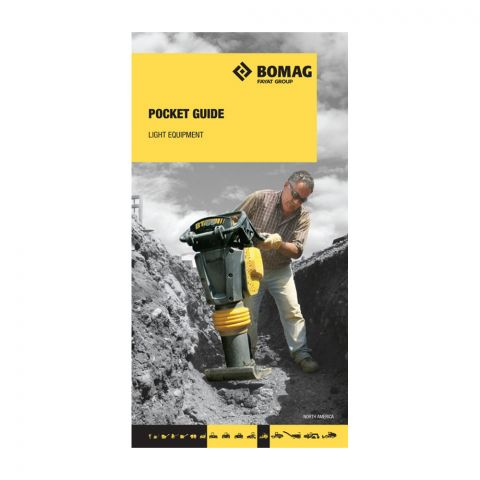 BOMAG Light Equipment Pocket Guide with Accessories