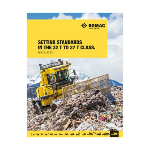 BC 672 and BC 772 Landfill Compactors